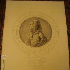 Arte: ANTIGUO GRABADO REINA DE INGLATERRA ,MUJER DE FELIPE II , MARIA TUDOR . MASSON SCULPSIT . Lote 33769181
