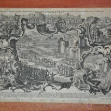 Arte: GRABADO ORIGINAL DE JOSEPH SEBASTIAN KLAUBER 1700 - 1787 ALEMANIA. Lote 47238773