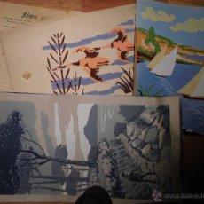 Arte: LOTE DE TRES GRABADOS ANTIGUOS PRINCIPIOS DE SIGLO. Lote 47257257