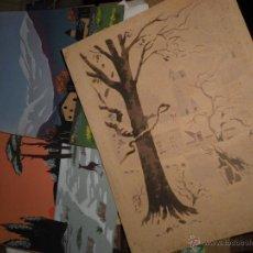 Arte: LOTE DE TRES GRABADOS ANTIGUOS PRINCIPIOS DE SIGLO. Lote 47257272