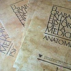Arte: COLECCION COMPLETA EL GRABADO EN LA HISTORIA DE LA MEDICINA 36 EJ.- 12 CARPETAS POR ESPECIALIDADADES. Lote 47341423