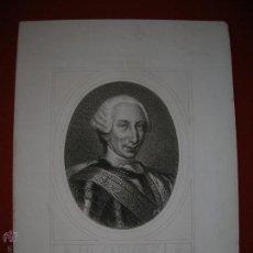 Arte: CARLOS III.REYES DE ESPAÑA.GRABADO.MASSON.S.C.MEDIADOS SIGLO XIX.TAMAÑO: 34 X 25 CTMS.. Lote 47507404
