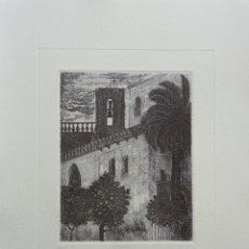 Arte: FRANCISCO CUADRADO 1985. ESPADAÑA DE LA CAPILLA DE STA MARÍA DE JESUS, SEVILLA. Lote 47703124