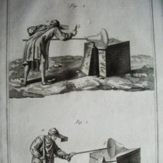 Arte: 1776-TRABAJO FABRICACIÓN CRISTAL ARTESANO.VIDRIO A MANO.GRABADO ORIGINAL MUY GRANDE. Lote 47738767