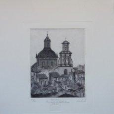 Arte: FRANCISCO CUADRADO 1997. ESPADAÑA PARROQUIA STA CRUZ, SEVILLA. Lote 47828141