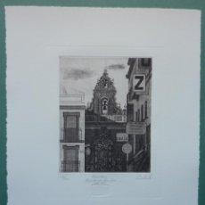 Arte: FRANCISCO CUADRADO 1997. ESPADAÑA CAPILLA S.JOSE, SEVILLA. Lote 47828435