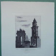 Arte: FRANCISCO CUADRADO 1997. ESPADAÑA CARTUJA STA Mª DE LAS CUEVAS, SEVILLA. Lote 47828693