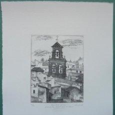 Arte: FRANCISCO CUADRADO 1997 ESPADAÑA IGLESIA SAN MIGUEL HERD EL SILENCIO, SEVILLA. Lote 47835457