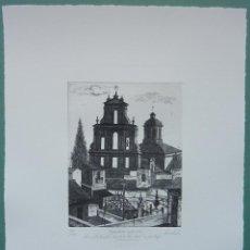 Arte: FRANCISCO CUADRADO 1997 ESPADAÑA DEL CONVENTO NUESTRA SRA DE LA PAZ HERD DE LA MORTAJA, SEVILLA. Lote 47835584