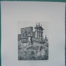 Arte: FRANCISCO CUADRADO 1997 ESPADAÑA DEL CONVENTO SAN JACINTO, SEVILLA. Lote 47836033