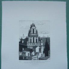 Arte: FCO CUADRADO 1997. ESPADAÑA DEL CONVENTO CASA GRANDE LA MERCED MUSEO BELLAS ARTES, SEVILLA. Lote 47836095