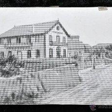 Arte: PABLO MARÍA BERTRAN Y TINTORÉ (1868 - 1909) PROYECTO PARA GRABADO. SANT JULIA DE VILATORTA. Lote 48019878