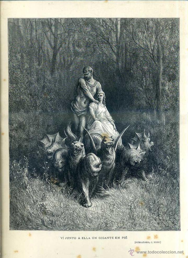 Arte: OBRAS ILUSTRADAS DE GUSTAVO DORÉ CUADERNO Nº 96 DE 4 REALES (1883) - Foto 2 - 48026190