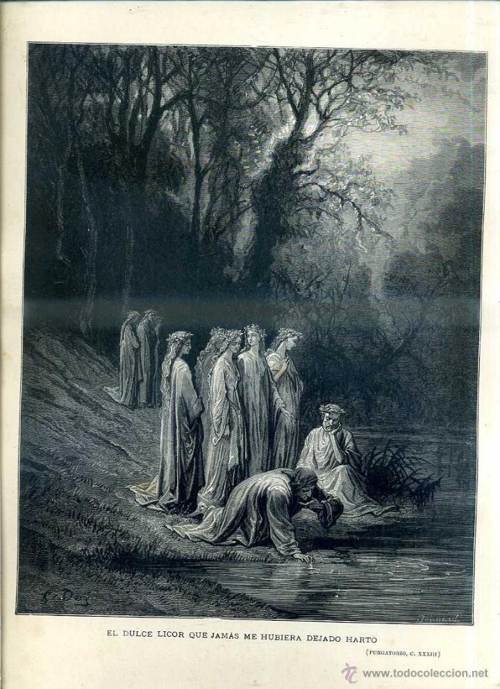 Arte: OBRAS ILUSTRADAS DE GUSTAVO DORÉ CUADERNO Nº 96 DE 4 REALES (1883) - Foto 3 - 48026190