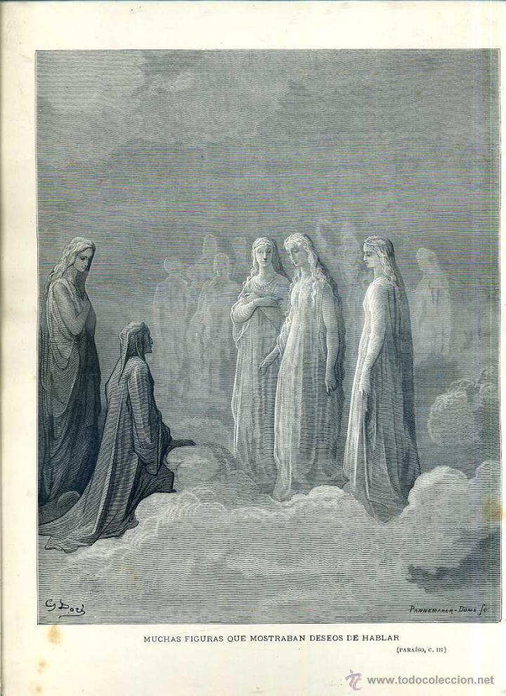 Arte: OBRAS ILUSTRADAS DE GUSTAVO DORÉ CUADERNO Nº 96 DE 4 REALES (1883) - Foto 4 - 48026190