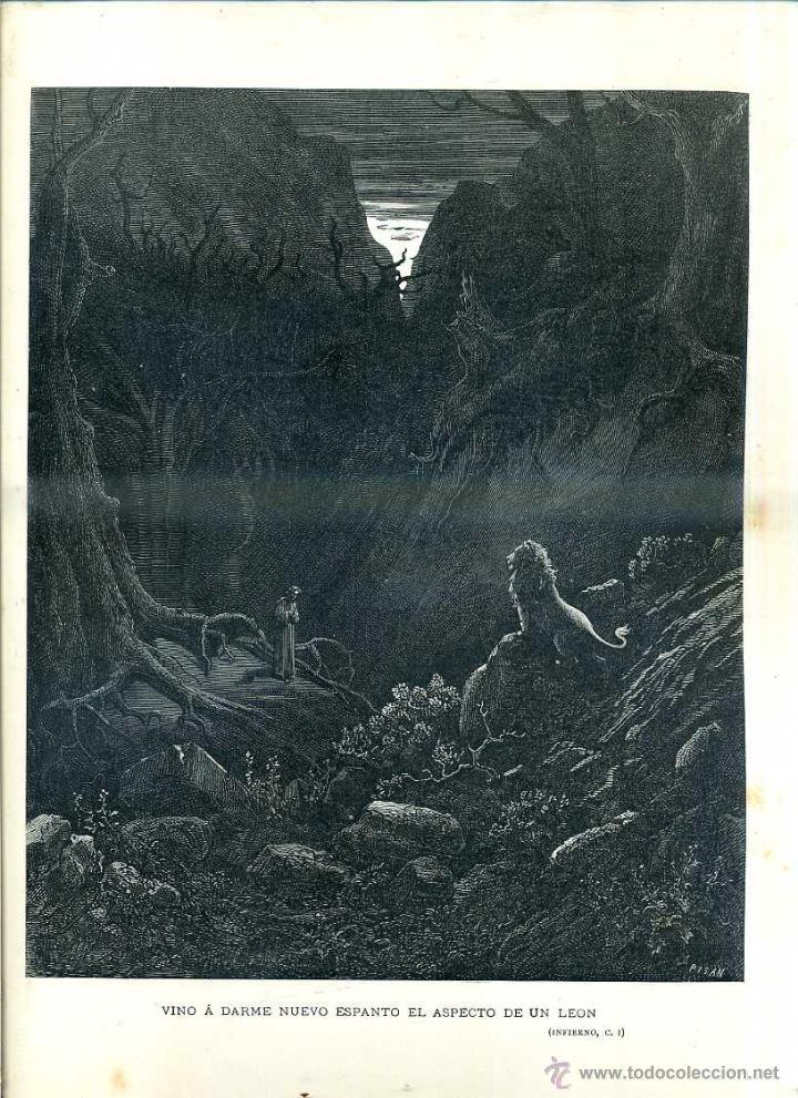 Arte: OBRAS ILUSTRADAS DE GUSTAVO DORÉ CUADERNO Nº 59 DE 4 REALES (1883) - Foto 3 - 48035920