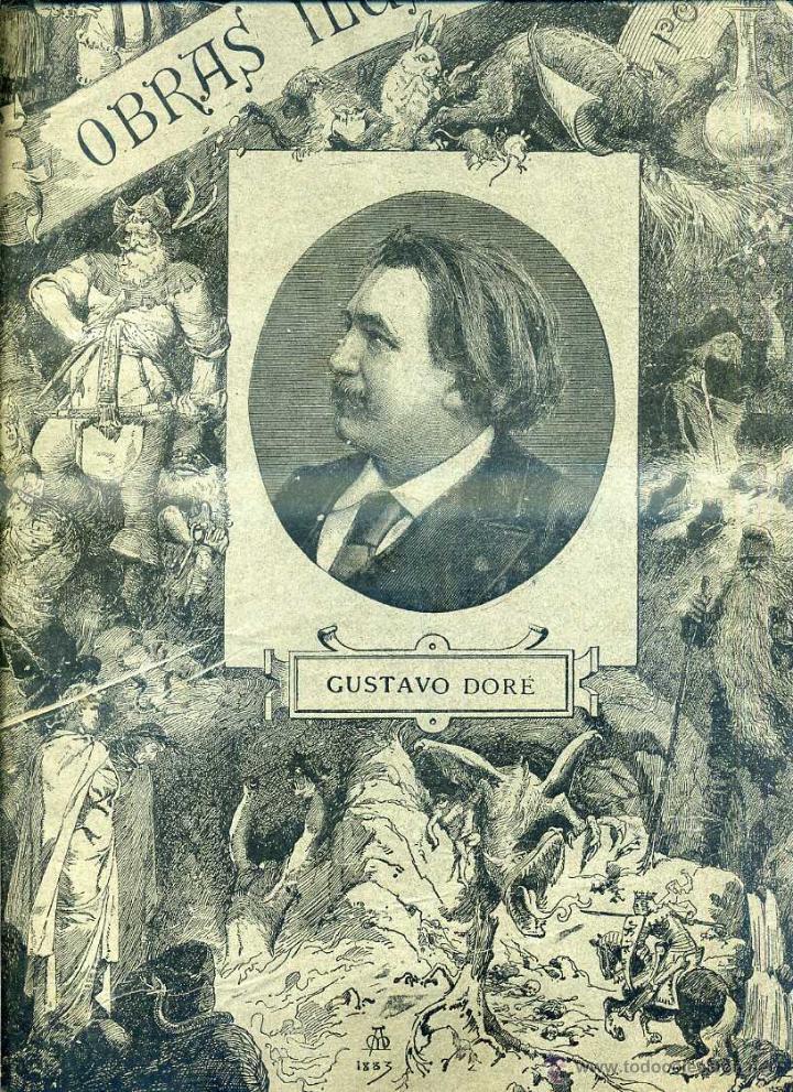 OBRAS ILUSTRADAS DE GUSTAVO DORÉ CUADERNO Nº 110 DE 4 REALES (1883) (Arte - Grabados - Modernos siglo XIX)