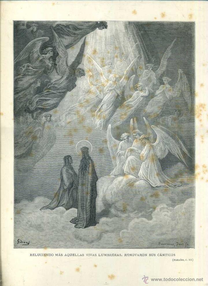 Arte: OBRAS ILUSTRADAS DE GUSTAVO DORÉ CUADERNO Nº 110 DE 4 REALES (1883) - Foto 3 - 48099888