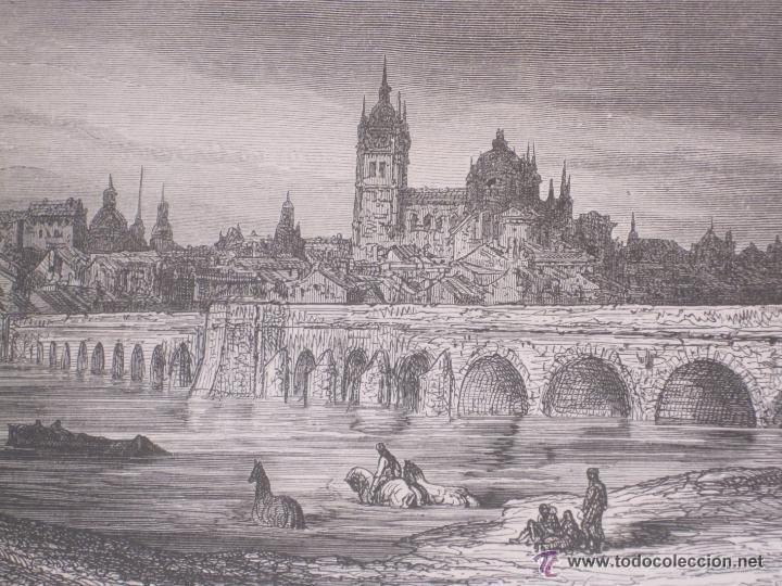 GUSTAVO DORÉ MADRID ILUSTRACIONES REALIZADAS POR EL AUTOR DURANTE SU VIAJE A CASTILLA 1862-1864 (Arte - Grabados - Modernos siglo XIX)