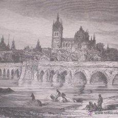 Arte: GUSTAVO DORÉ MADRID ILUSTRACIONES REALIZADAS POR EL AUTOR DURANTE SU VIAJE A CASTILLA 1862-1864. Lote 48492573