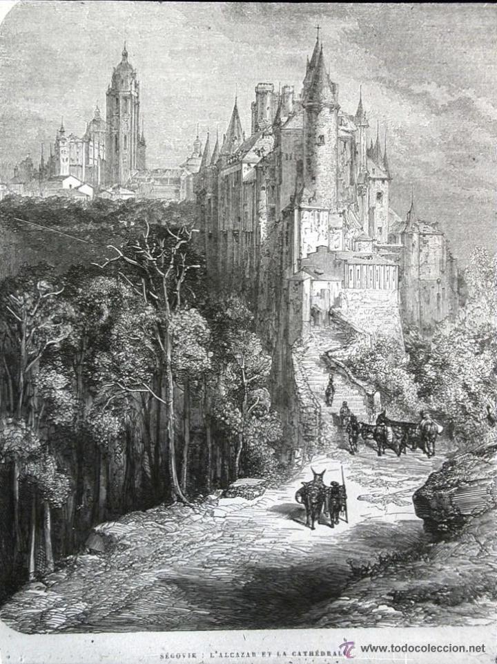 Arte: GUSTAVO DORÉ MADRID ILUSTRACIONES REALIZADAS POR EL AUTOR DURANTE SU VIAJE A CASTILLA 1862-1864 - Foto 4 - 48492573