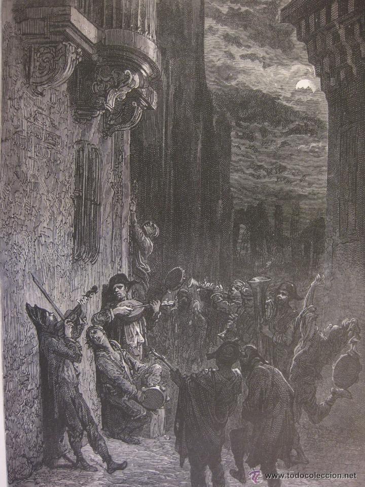 Arte: GUSTAVO DORÉ MADRID ILUSTRACIONES REALIZADAS POR EL AUTOR DURANTE SU VIAJE A CASTILLA 1862-1864 - Foto 7 - 48492573