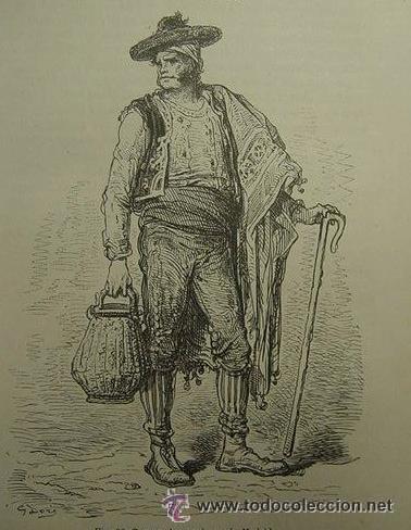 Arte: GUSTAVO DORÉ MADRID ILUSTRACIONES REALIZADAS POR EL AUTOR DURANTE SU VIAJE A CASTILLA 1862-1864 - Foto 8 - 48492573
