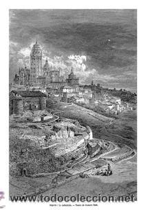 Arte: GUSTAVO DORÉ MADRID ILUSTRACIONES REALIZADAS POR EL AUTOR DURANTE SU VIAJE A CASTILLA 1862-1864 - Foto 9 - 48492573