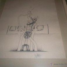 Arte: B ONITA PINTURA HECHA A LAPIZ. Lote 48724647
