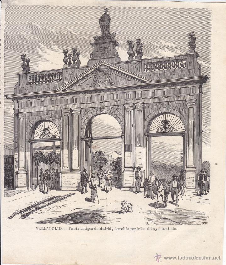 Valladolid puerta antigua de madrid demolida vendido en venta directa 48745609 - Puertas en valladolid ...