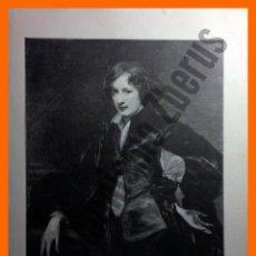 Arte: RETRATO DE VAN DYCK CUANDO ERA JOVEN - LA ILUSTRACIÓN ARTÍSTICA (1899). Lote 48891418