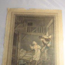 Arte: PIERRE-PHILIPPE CHOFFARD. 1782 , ANTIGUO GRABADO, ORIGINAL. -REF3500- PRECIO 400€. Lote 48992649