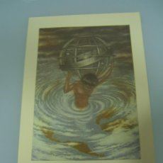 Arte: LAMINA, GRABADO, ESFERA ARMILAR (35X24). Lote 49000072