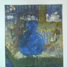 Arte: AGUAFUERTE TITULADO BODEGÓN ORIGINAL DE RICHARD KOCI. Lote 49201024