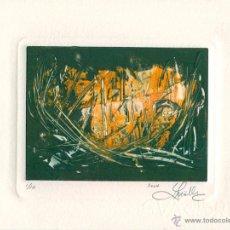 Arte: GUSTAVO MÖLLER. GRABADO ORIGINAL. FIRMADO Y NUMERADO POR EL ARTISTA. 2004 TIRAJE 1/10. Lote 49467168