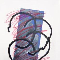 Kunst: IMPRESIONANTE GRABADO DE RAFAEL CANOGAR (1936) / 100 X 70 CM. / CON DEDICATORIA AUTÓGRAFA. Lote 88376352
