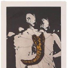 Arte: ZUSH-EVRU-ALBERTO PORTA / GRABADO CON GOFRADO, 1986 / FIRMADO Y NUMERADO. Lote 49532481