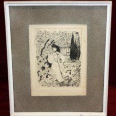 Arte: EMILI GRAU SALA (BARCELONA, 1911- PARÍS, 1975) GRABADO ORIGINAL DE LOS AÑOS 30. Lote 49663600