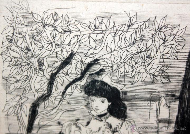 Arte: EMILI GRAU SALA (BARCELONA, 1911- PARÍS, 1975) GRABADO ORIGINAL DE LOS AÑOS 30 - Foto 2 - 49663600
