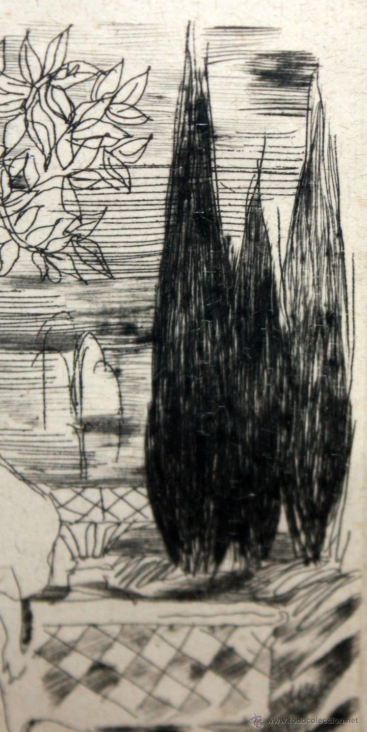 Arte: EMILI GRAU SALA (BARCELONA, 1911- PARÍS, 1975) GRABADO ORIGINAL DE LOS AÑOS 30 - Foto 5 - 49663600