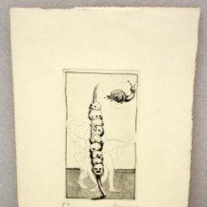 Arte: JOSE LUIS GARCIA SEVERO. GRABADO ORIGINAL. P/A. Lote 49666108