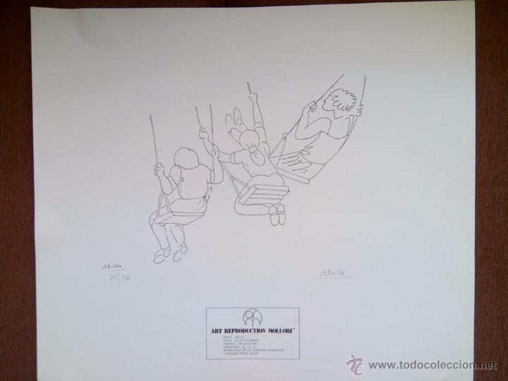 JUAN JOSÉ ABELLA - ART REPRODUCTION MOLLORI - GRABADO NUMERADO Y FIRMADO POR EL AUTOR - 1976 (Arte - Grabados - Contemporáneos siglo XX)