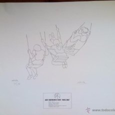 Arte: JUAN JOSÉ ABELLA - ART REPRODUCTION MOLLORI - GRABADO NUMERADO Y FIRMADO POR EL AUTOR - 1976. Lote 49699999