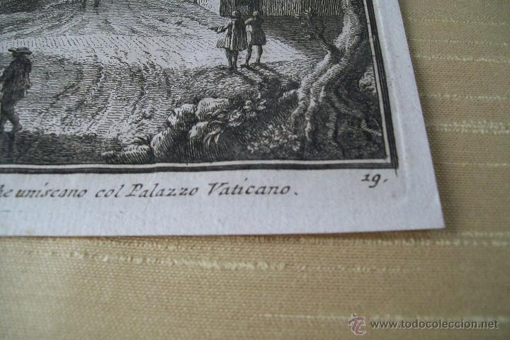 Arte: PORTA ANGELICA GIUSEPPE VASI SIGLO XVIII GRABADO 19 - Foto 3 - 177883934