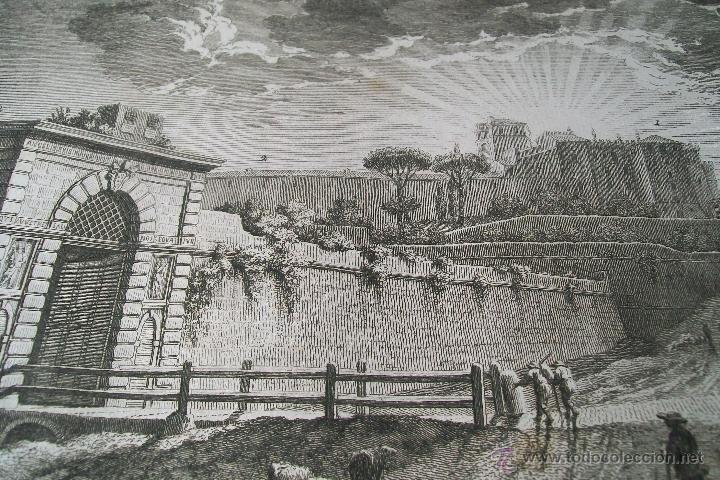 Arte: PORTA ANGELICA GIUSEPPE VASI SIGLO XVIII GRABADO 19 - Foto 4 - 177883934