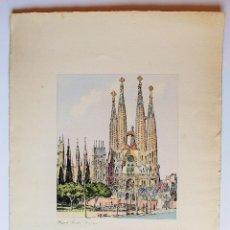 Arte: LA SAGRADA FAMILIA DE ANTONI GAUDÍ EN BARCELONA.. Lote 49922269