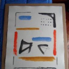Arte: RAFOLS-CASAMADA (BARCELONA 1923-2009) CAMI DE PRIMAVERA3, AGUAFUERTE 78X57 EN 104X75CMS 48/75. Lote 50050631