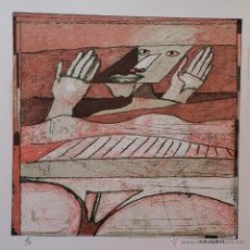 Arte: HANS GRAEDER: DESNUDO, 1980 / GRABADO FIRMADO Y NUMERADO A LÁPIZ. Lote 50069780