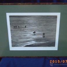 Arte: GRABADO DE JEAN-MARCEL BERTRAND GRAVEUR SUR BOIS - LE LAC GELÉ - Nº 89/90 - FIRMADO A LÁPIZ -. Lote 50451318