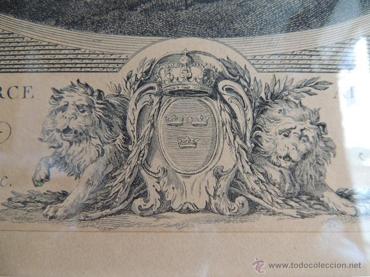 Arte: PRECIOSA PAREJA DE GRABADOS ANTIGUOS SIGLO XVIII ENMARCADOS - Foto 18 - 50545736